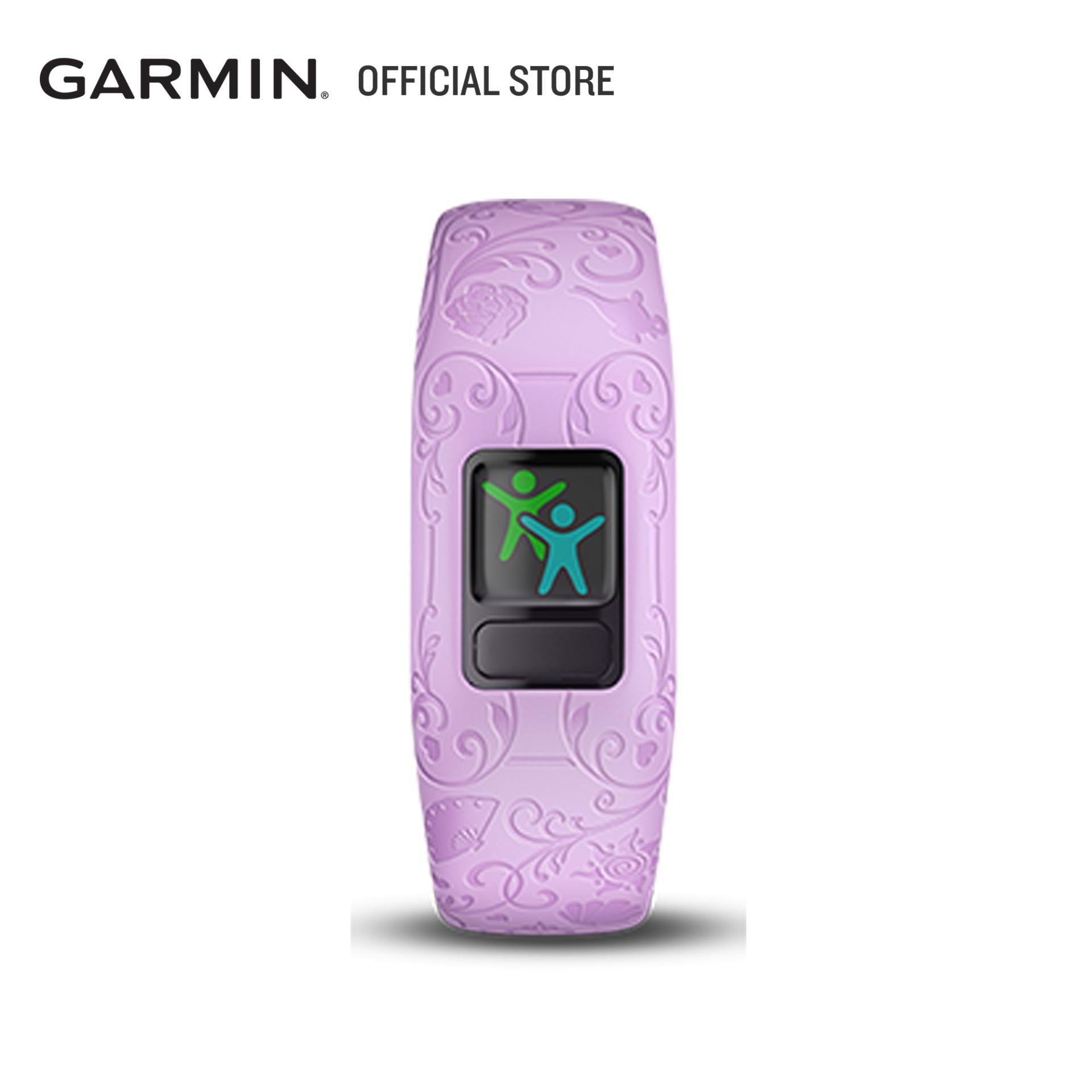 Garmin Vivofit Jr. 2 Adjustable Activity Tracker Disney Princess Purple Accessory Band For Children, Kids.
