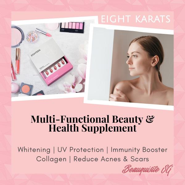 Buy [VIP DEAL] Eight Karats Eighteen Vitaskin Nutricosmetic Supplement (10 Boxes) Singapore