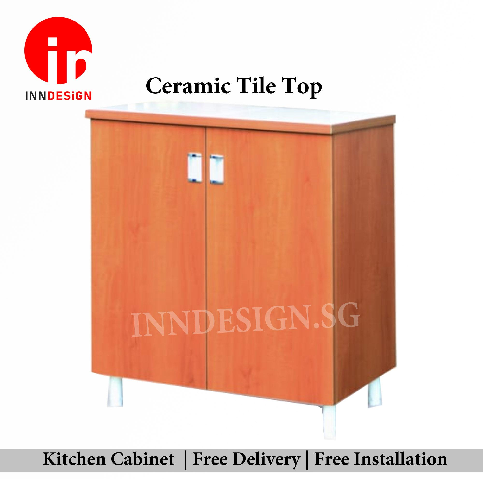 Nini Solid Plywood Kitchen Cabinet (Free Delivery and Installation)