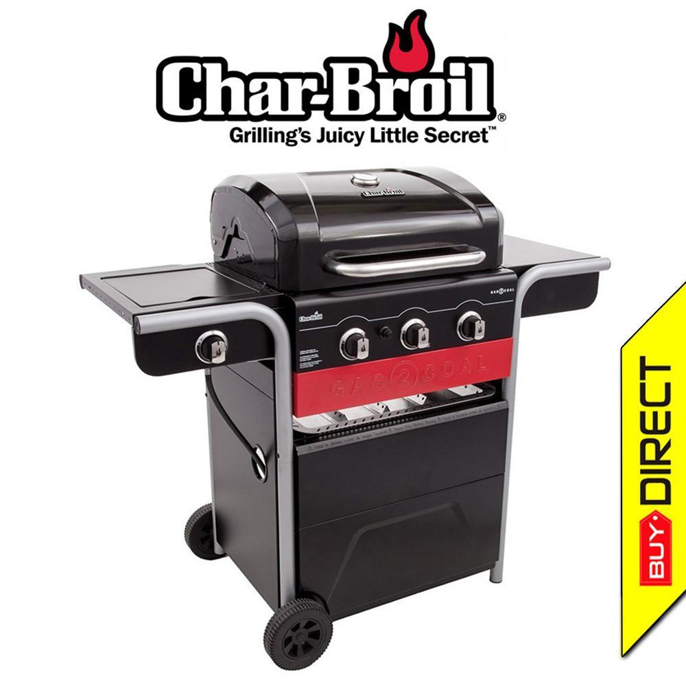 Char-Broil GAS2COAL® Hybrid BBQ Grill