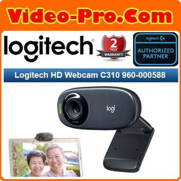 Logitech HD Webcam C310 960-000588 (2 Years Warranty)