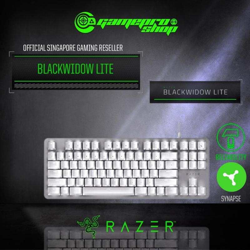 Razer Blackwidow Lite - Silent Mechanical Gaming Keyboard *NDP PROMO* Singapore