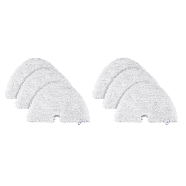 Bảng giá 6Pcs Steam Mop Pads, Washable Microfiber Cleaning Steamer Replacement Pads for Shark Steam Pocket Mop S3500 Series