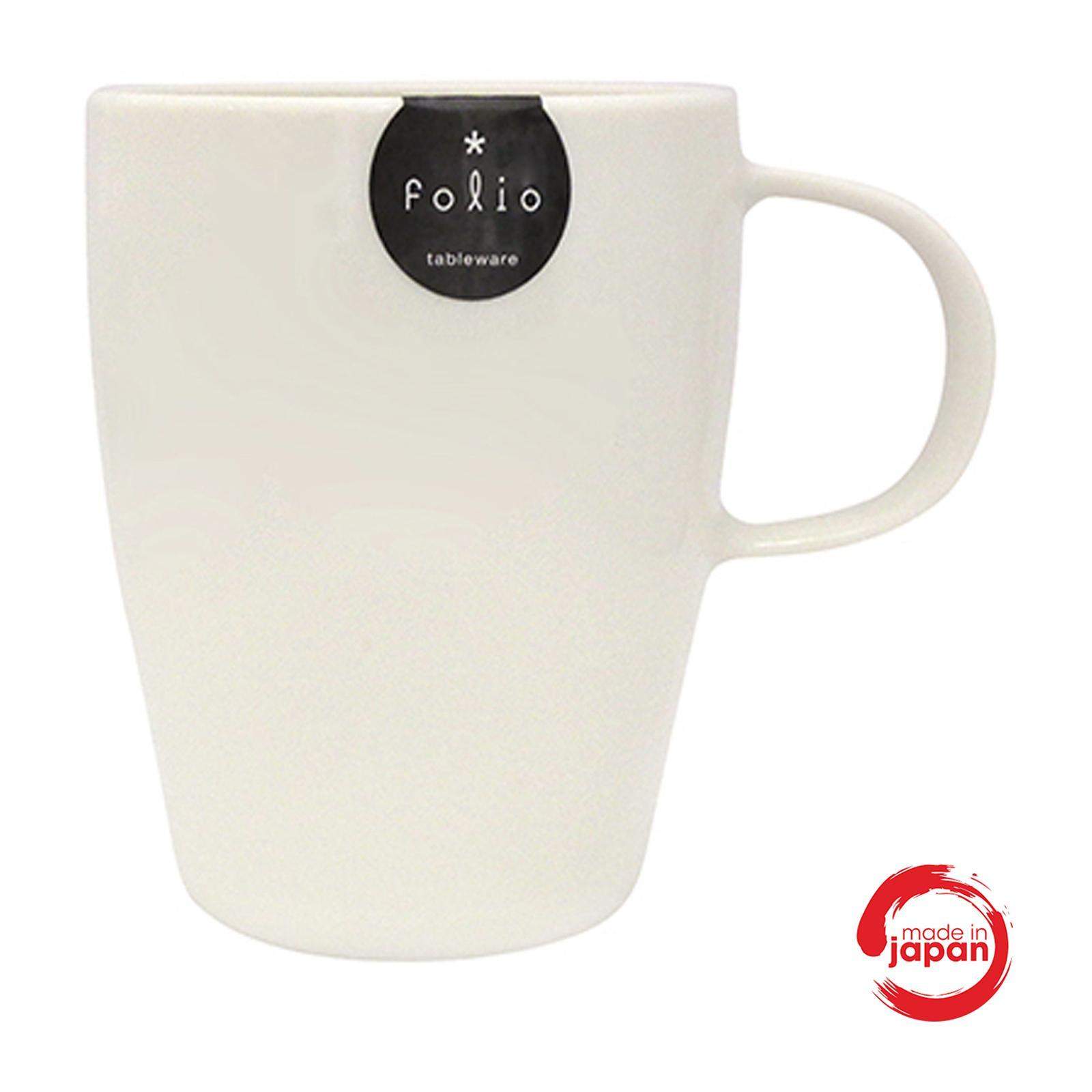 Nomi - Kitchen - Fancy Mug With Handle - White Color