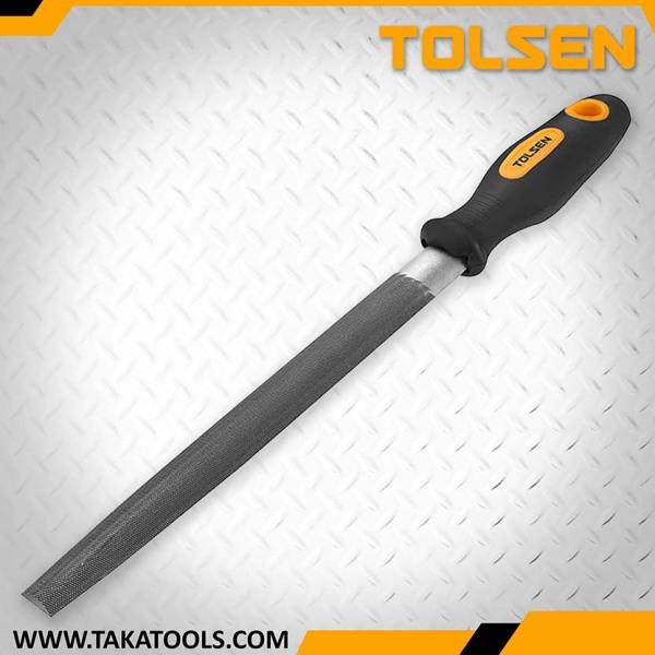 Tolsen Steel File half round - 32005