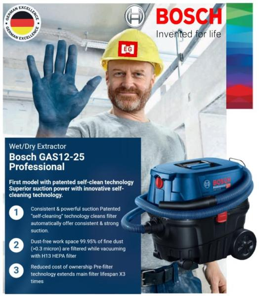 Bosch GAS 12-25L