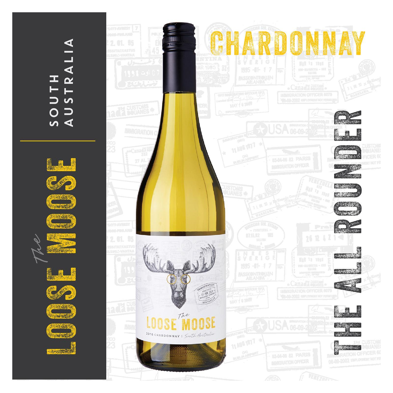 The Loose Moose South Australia Chardonnay White Wine