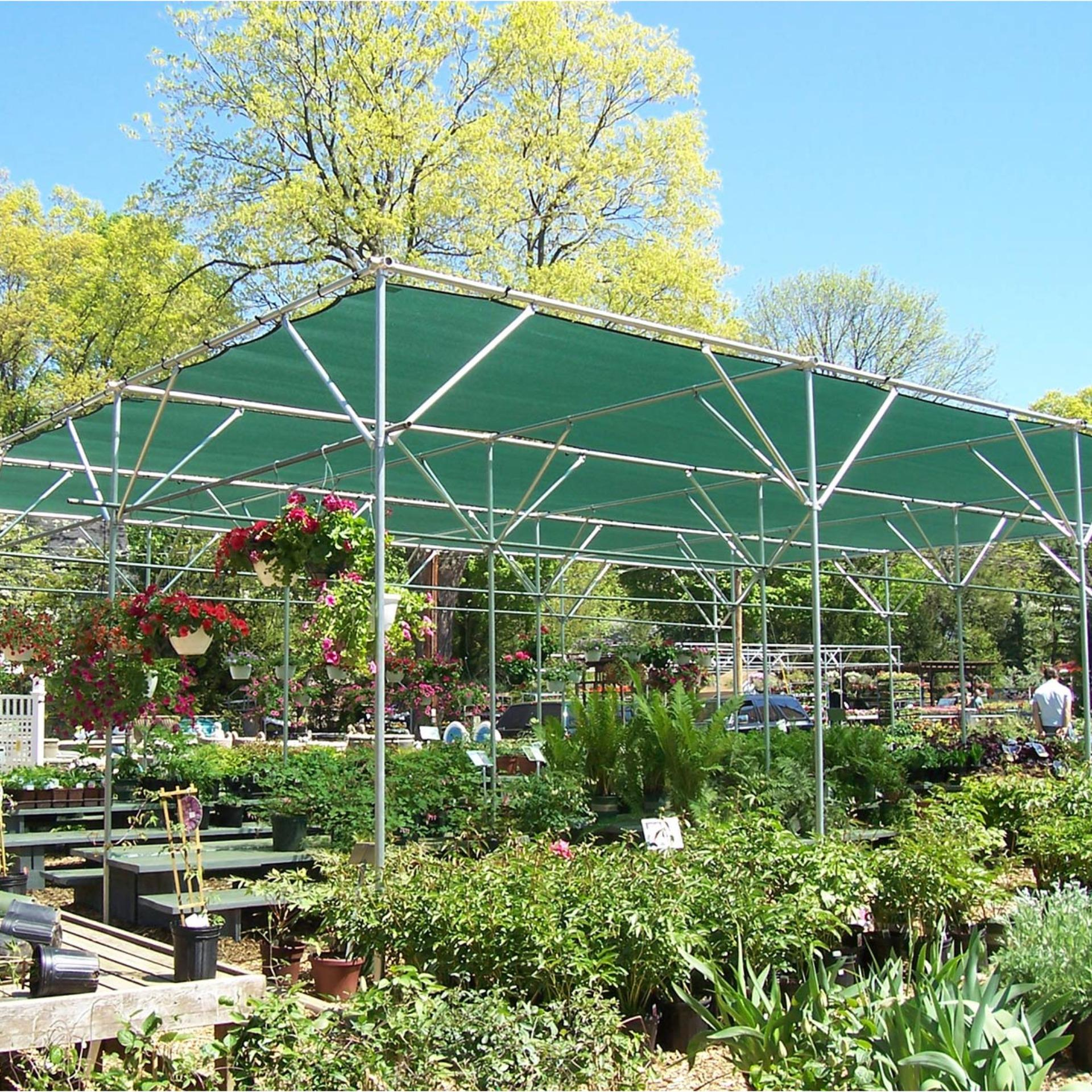 Sun Shade Sail 70% UV Block Outdoor Garden Plant Cover Awning Canopy Mesh Net Shade 4x1.8m - intl