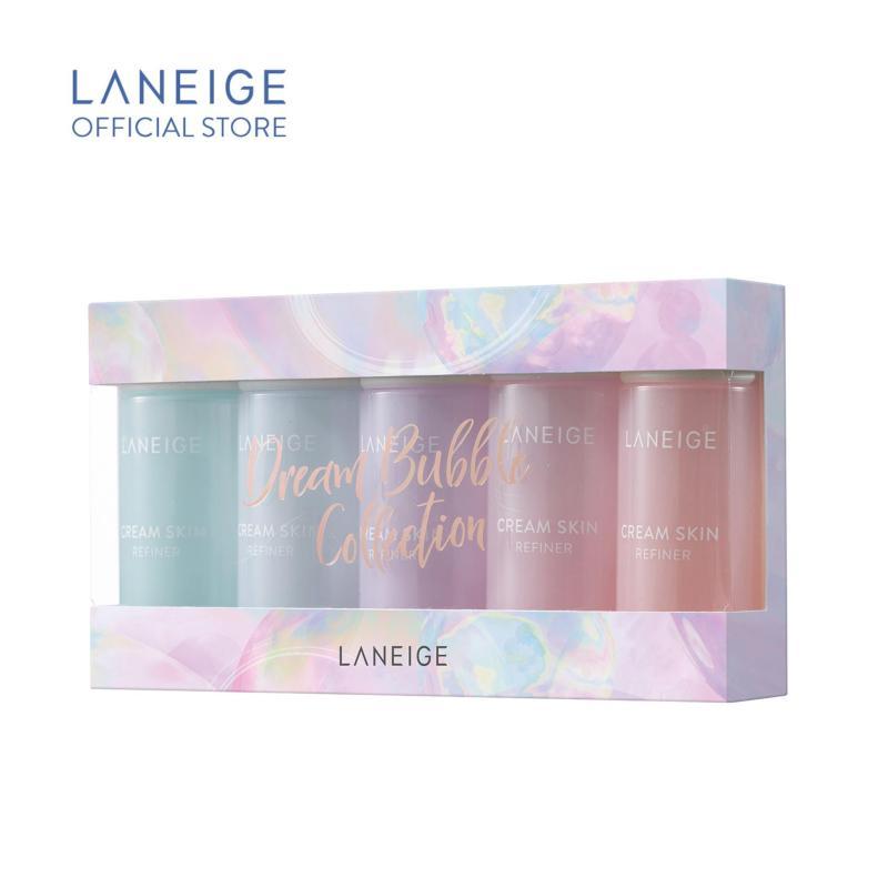 Buy [Dreamful Holiday] LANEIGE Cream Skin Travel Set 50ml*5EA Singapore