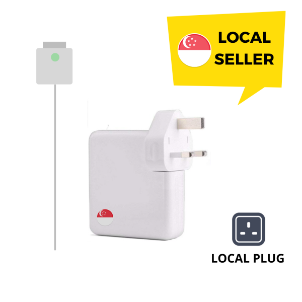 Replacement Wall Charger for Macbook Air / Pro - T Shape [45W, 60W, 85W](85W)