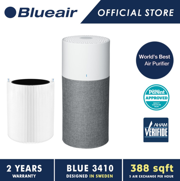 [10.10 Exclusive Bundle] Blueair Blue 3410 / Blue Pure 311 Auto Air Purifier + Filter Singapore