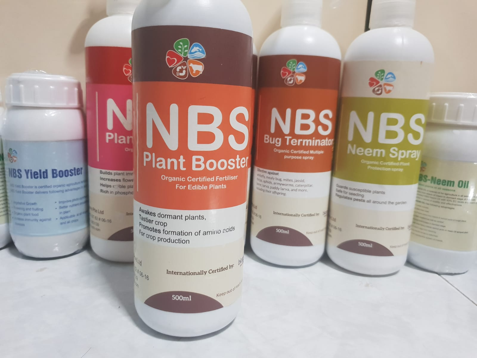 NBS Plant Booster Spray Flowering/Fruiting/Plant Growth