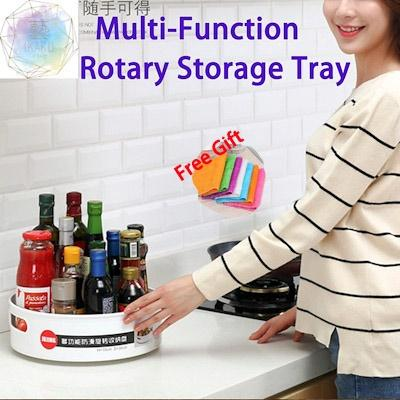 MISSHER *Best Seller* Multi-Function Rotary Storage Tray ST01