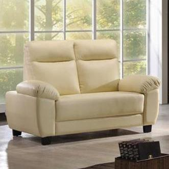 Edison 2 Seater Synthetic Leather Sofa * Local made sofa * Color Choice * Fast and Free Delivery * Free installation