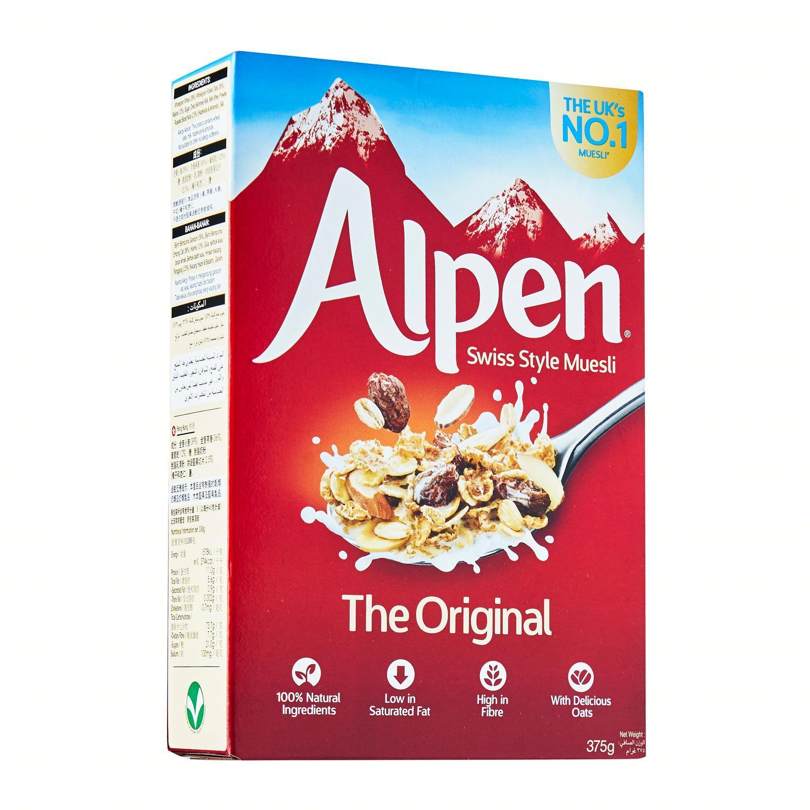 Alpen Original Muesli