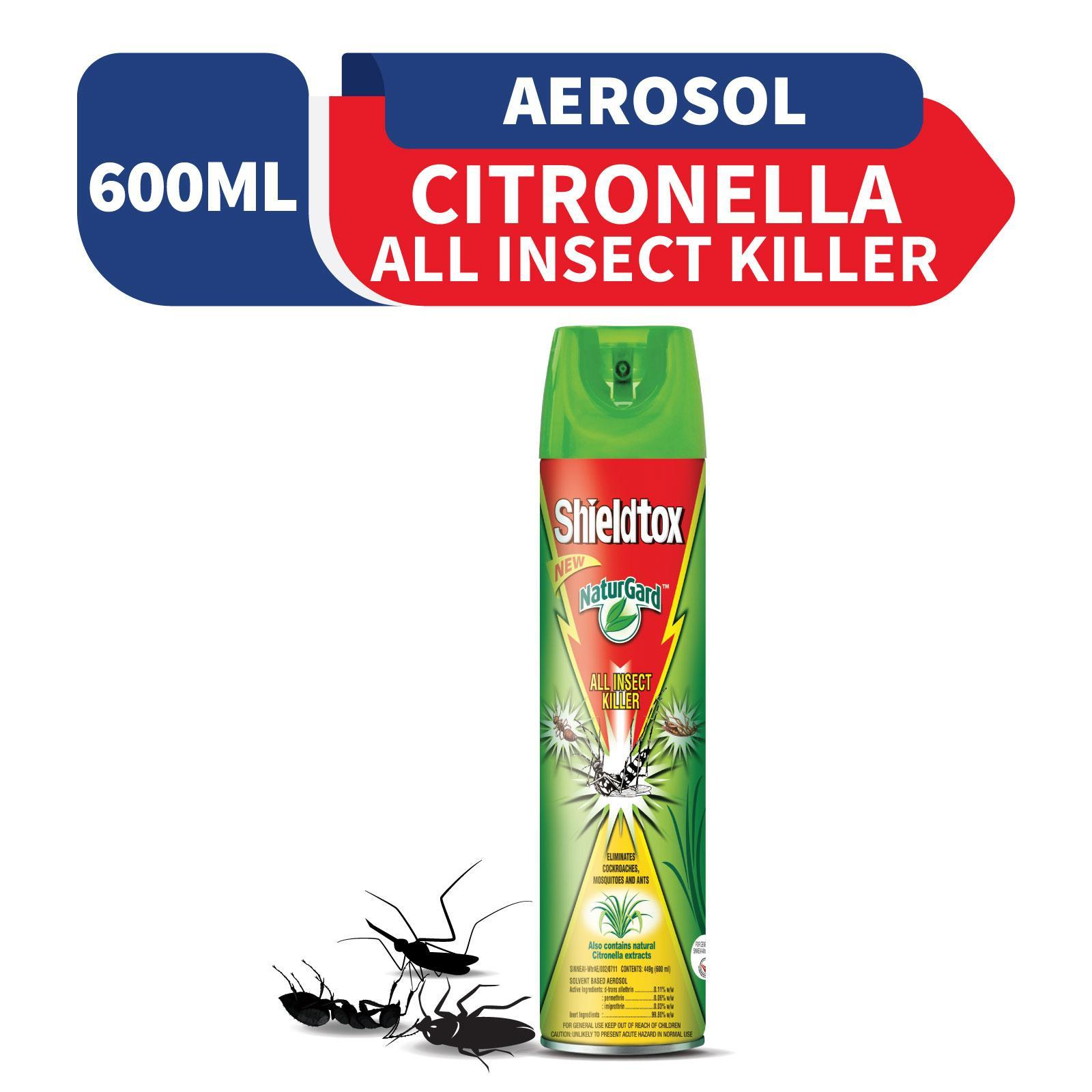 Shieldtox Naturgard All Insect Killer Citronella By Redmart.