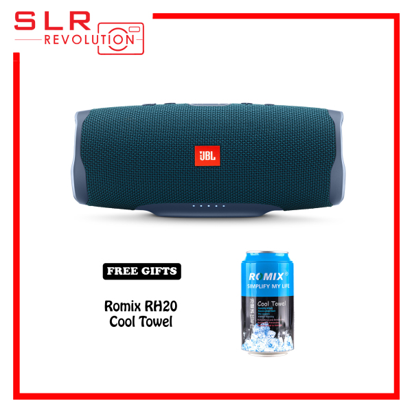 JBL Charge 4 Portable Bluetooth Speaker [Free Romix RH20 Cool Towel] Singapore