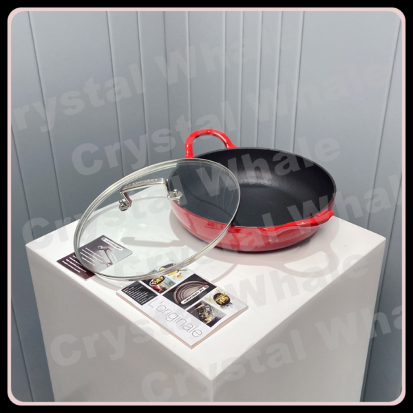 Le Creuset Barbecue Pan c/w Glass Lid (26 cm) Singapore