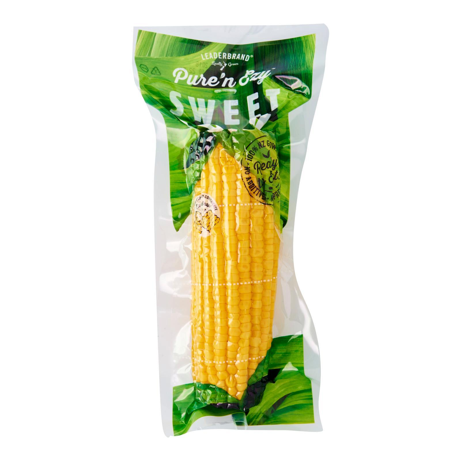 Leader Brand RTE Pre-Cooked Sweet Corn