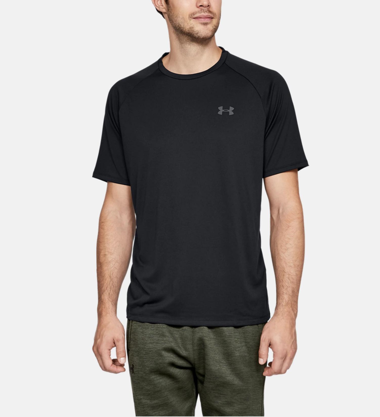 Under Armour Men/'s UA HeatGear Tech Short Sleeve Lightweight Running Shirt NWT