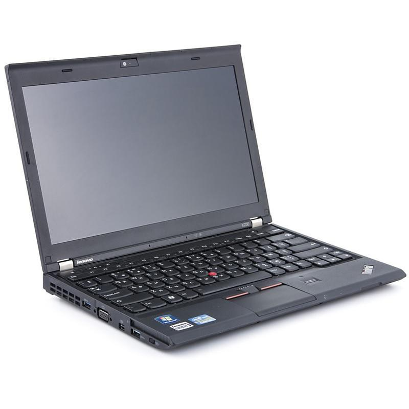 (Refurbished) Lenovo X230 -12.5- (3rd Gen) Core i7-3520M @ 2.90 GHz - 8GB - 256GB - Windows 10 Pro 64 bit -*FREE Pre-Installed Anti Virus (Trend Micro Internet Security 2019) (1 device) 12mth