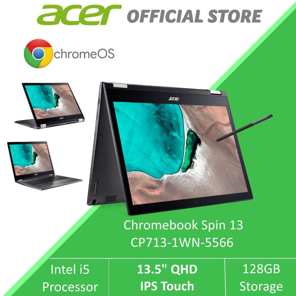 Acer Chromebook Spin 13 CP713-1WN-5566 (Grey) - 13.5-inch QHD IPS Touch Display