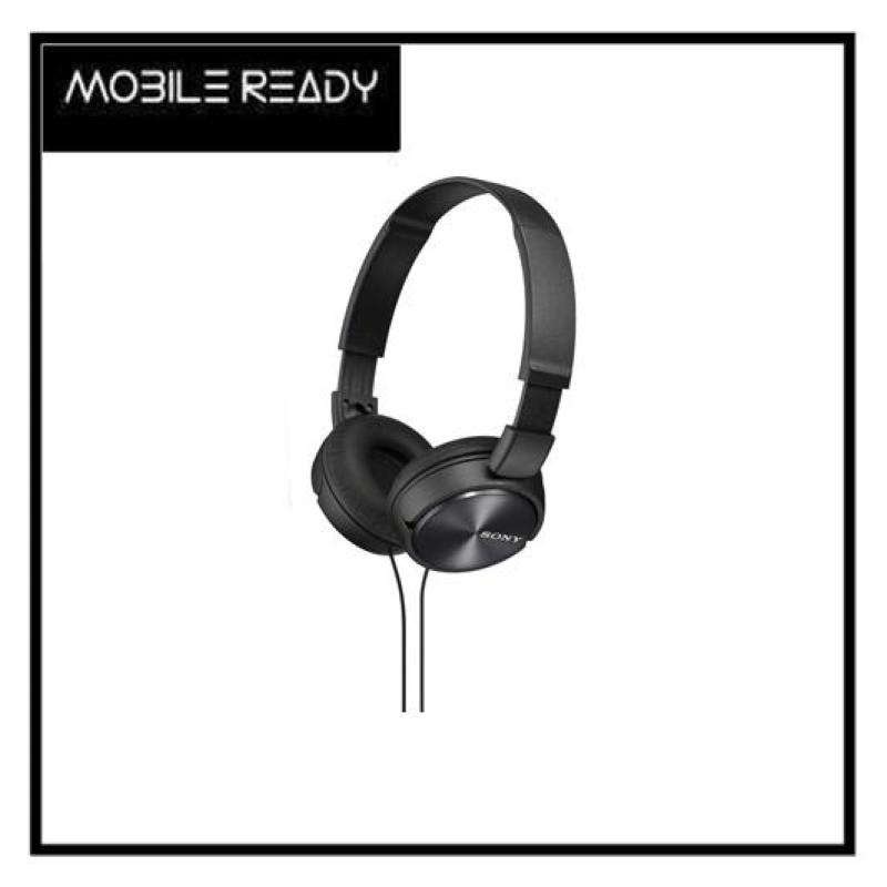 [SONY Headphones] MDR ZX-310AP Black Lightweight/30mm Ferrite Drivers for Powerful, Balanced Sound AUTHENTIC Singapore