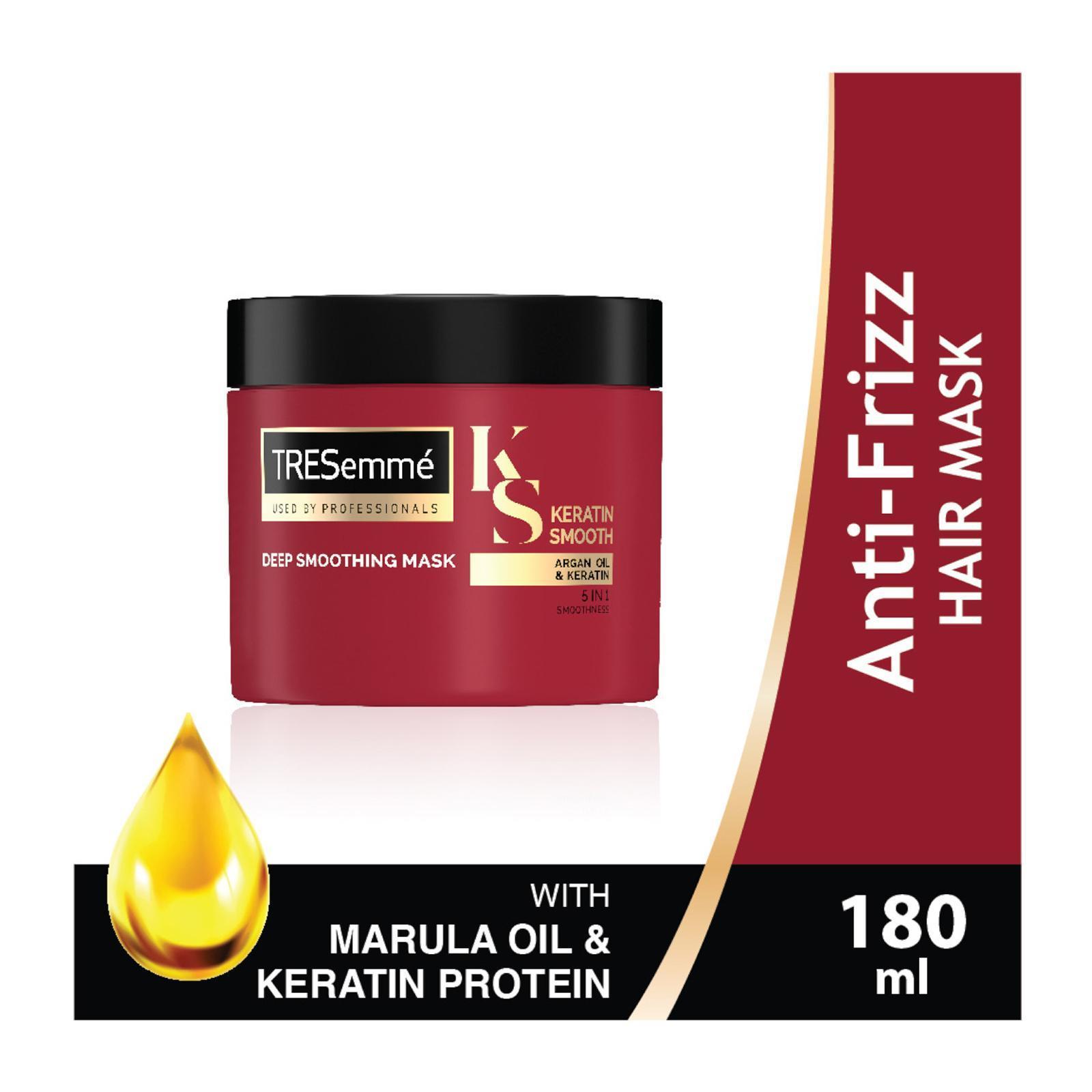 TRESEMME keratin smooth anti frizz hair mask 180ml