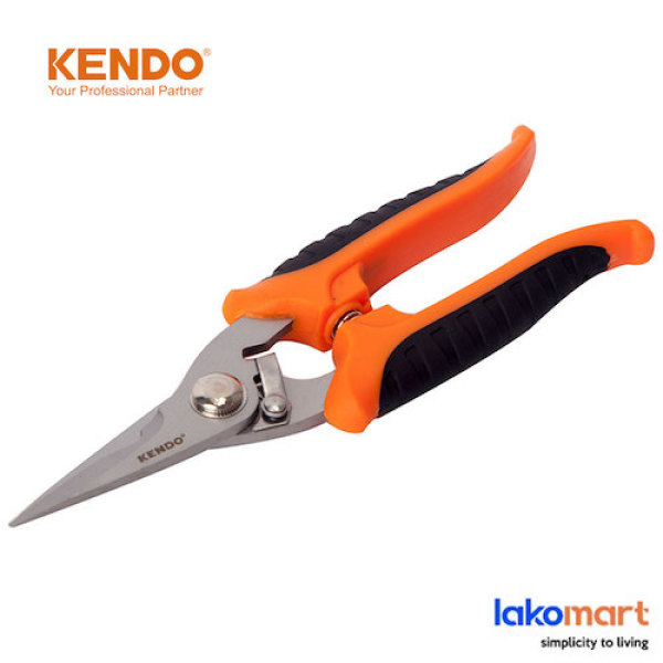 KENDO Gasket Scissor Sus 7 Inch (175mm) [30701]