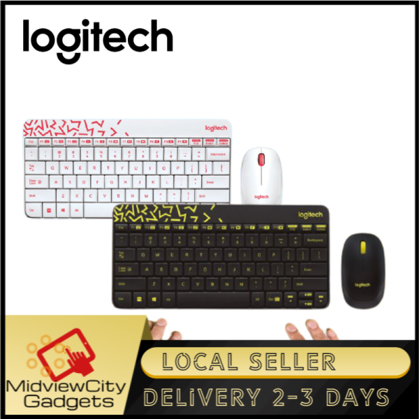 Logitech MK240 Nano Wireless Keyboard and Mouse Combo Singapore
