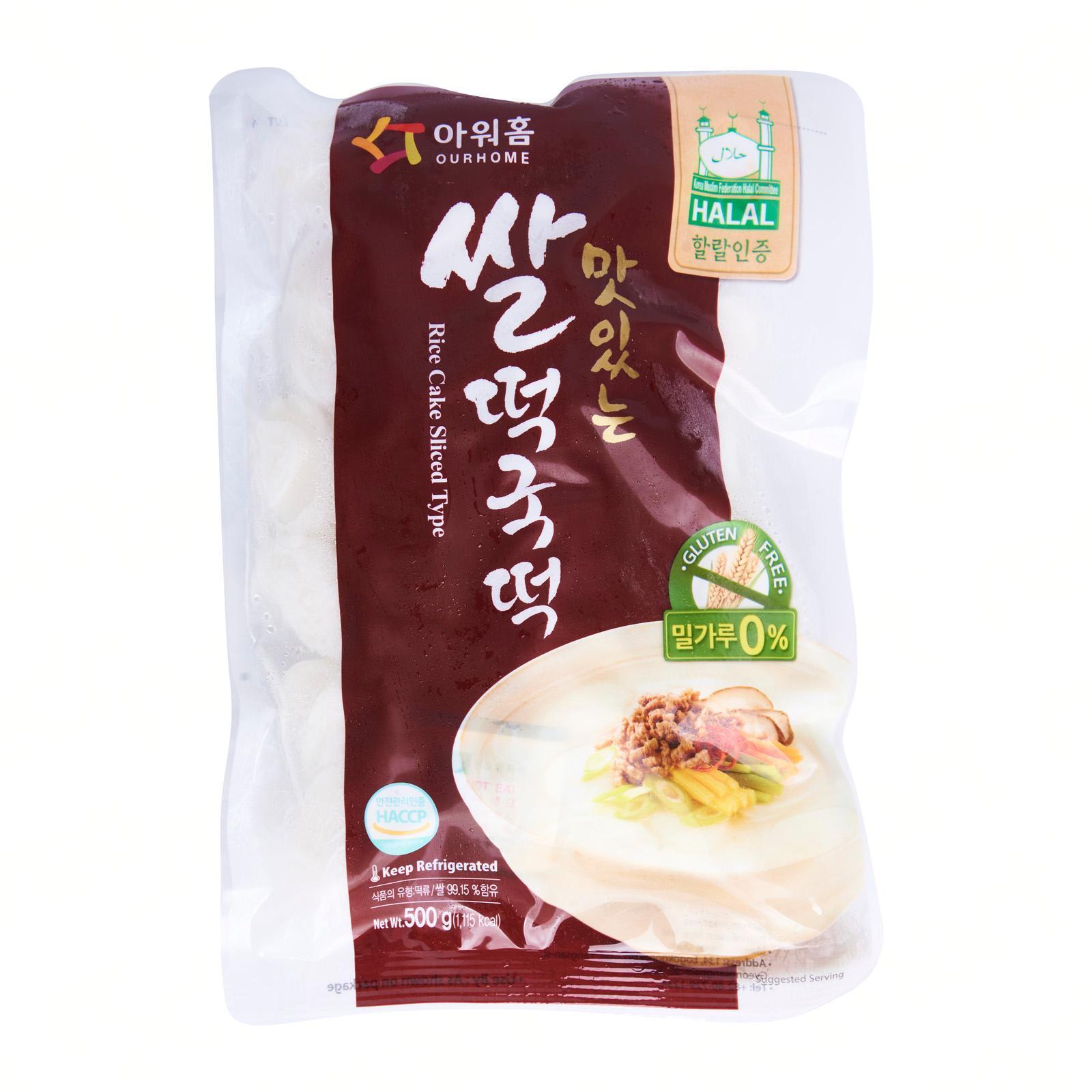OURHOME Sliced Rice Cake - Korean