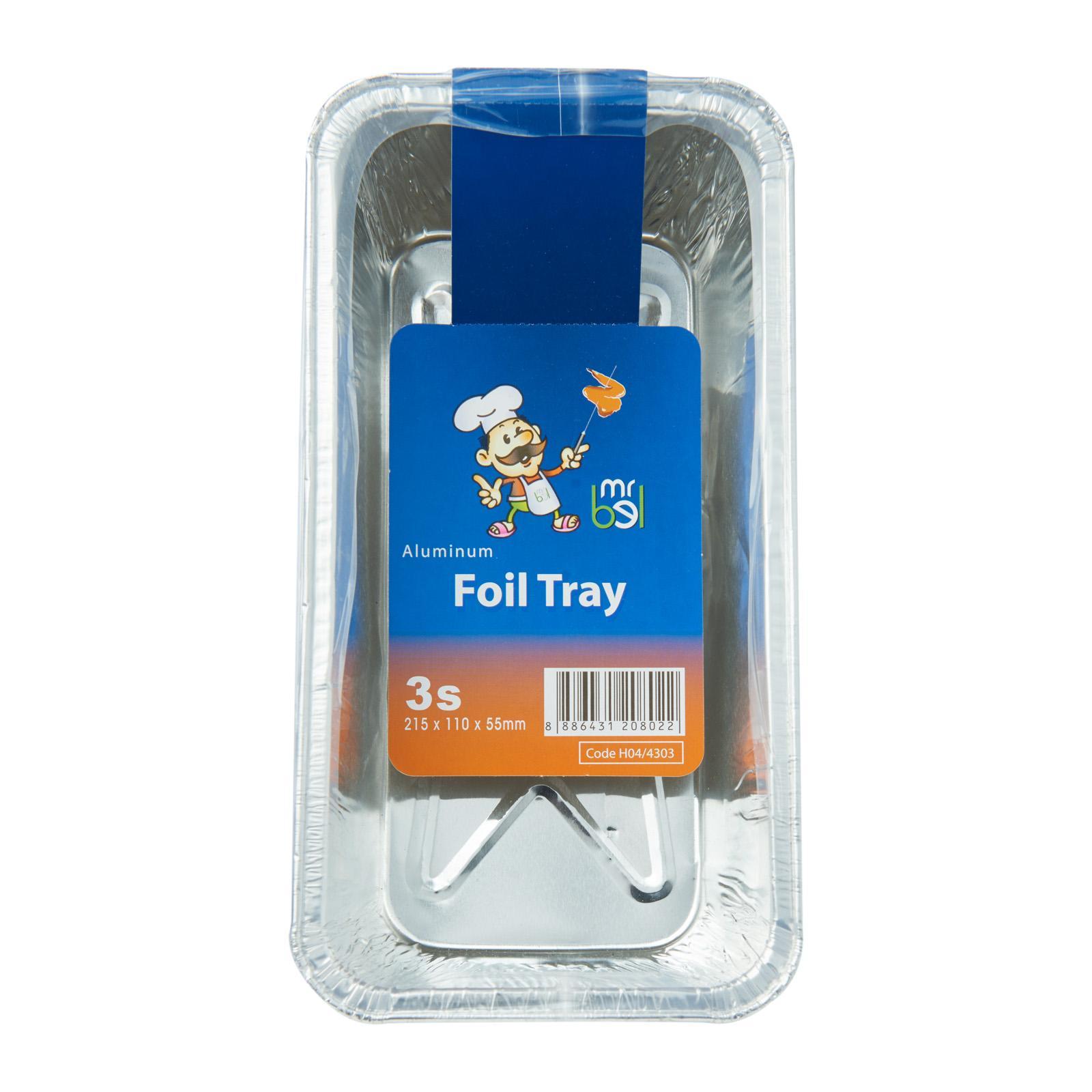 Mr Bel Disposable Rectangular Aluminium Foil Tray