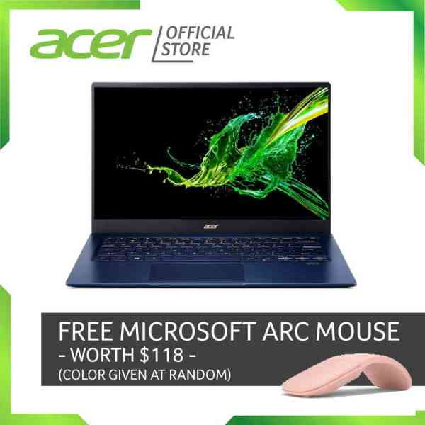 Acer Swift 5 SF514-54GT-78Y7 Thin and light Touch Screen laptop with LATEST 10 Gen Intel i7-1065G7 processor and 16GB RAM