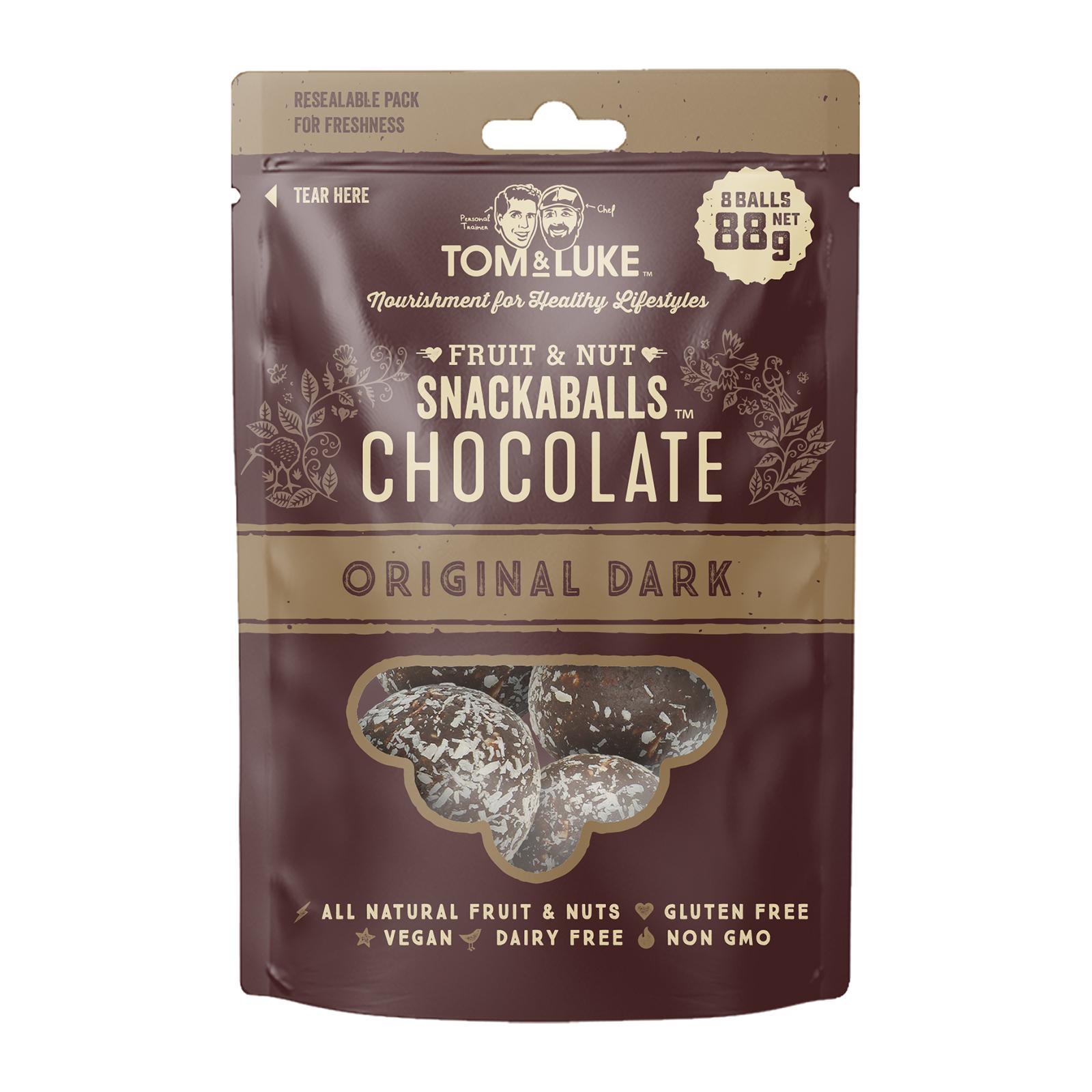 Tom & Luke Snackaball - Dark Chocolate Original