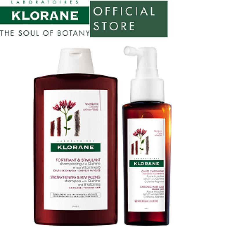 Buy Klorane Quinine Complete Hair Growth Set Singapore