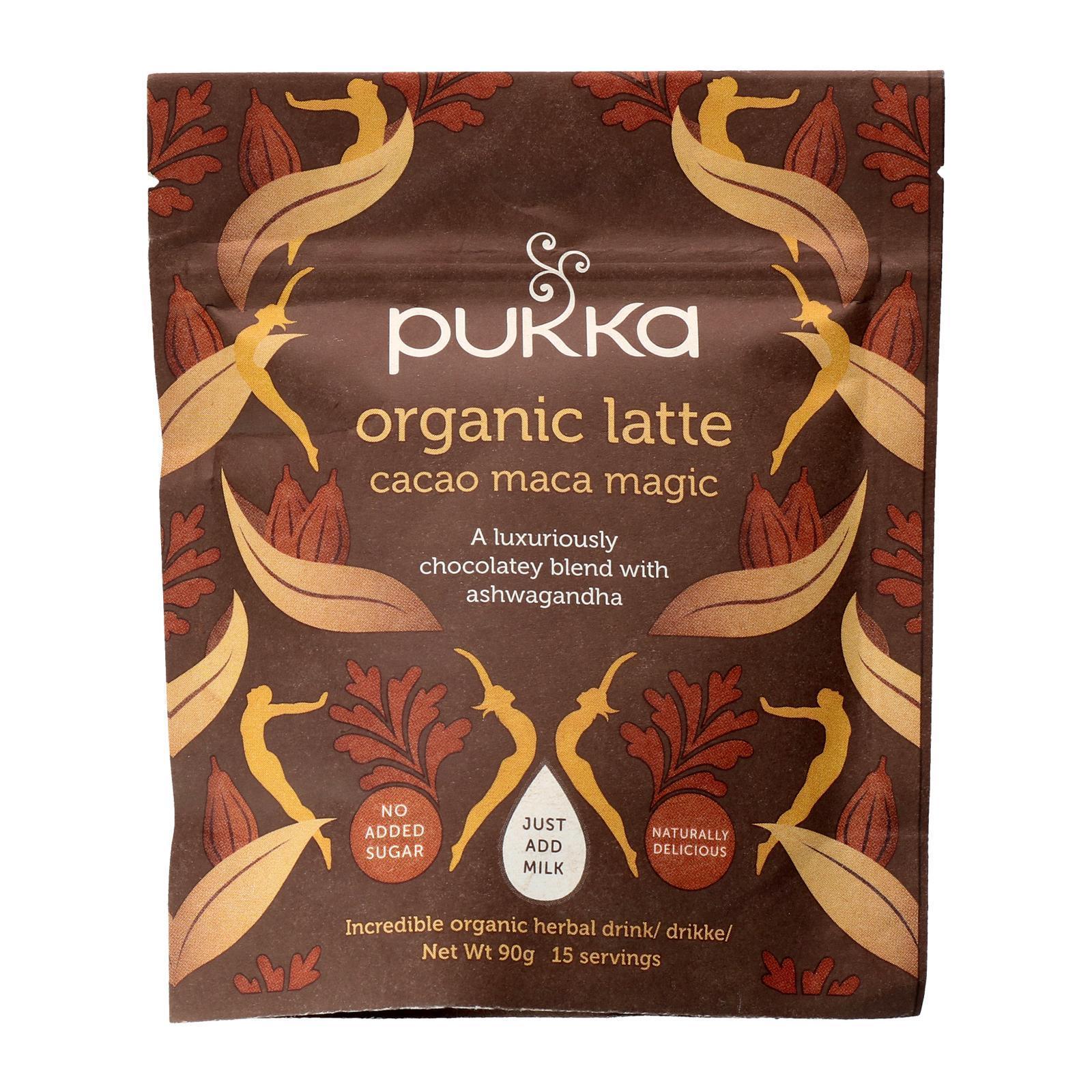 Pukka Herbal Ayurveda Pukka Organic Maca Magic Latte (4 x 90 g) - By Wholesome Harvest
