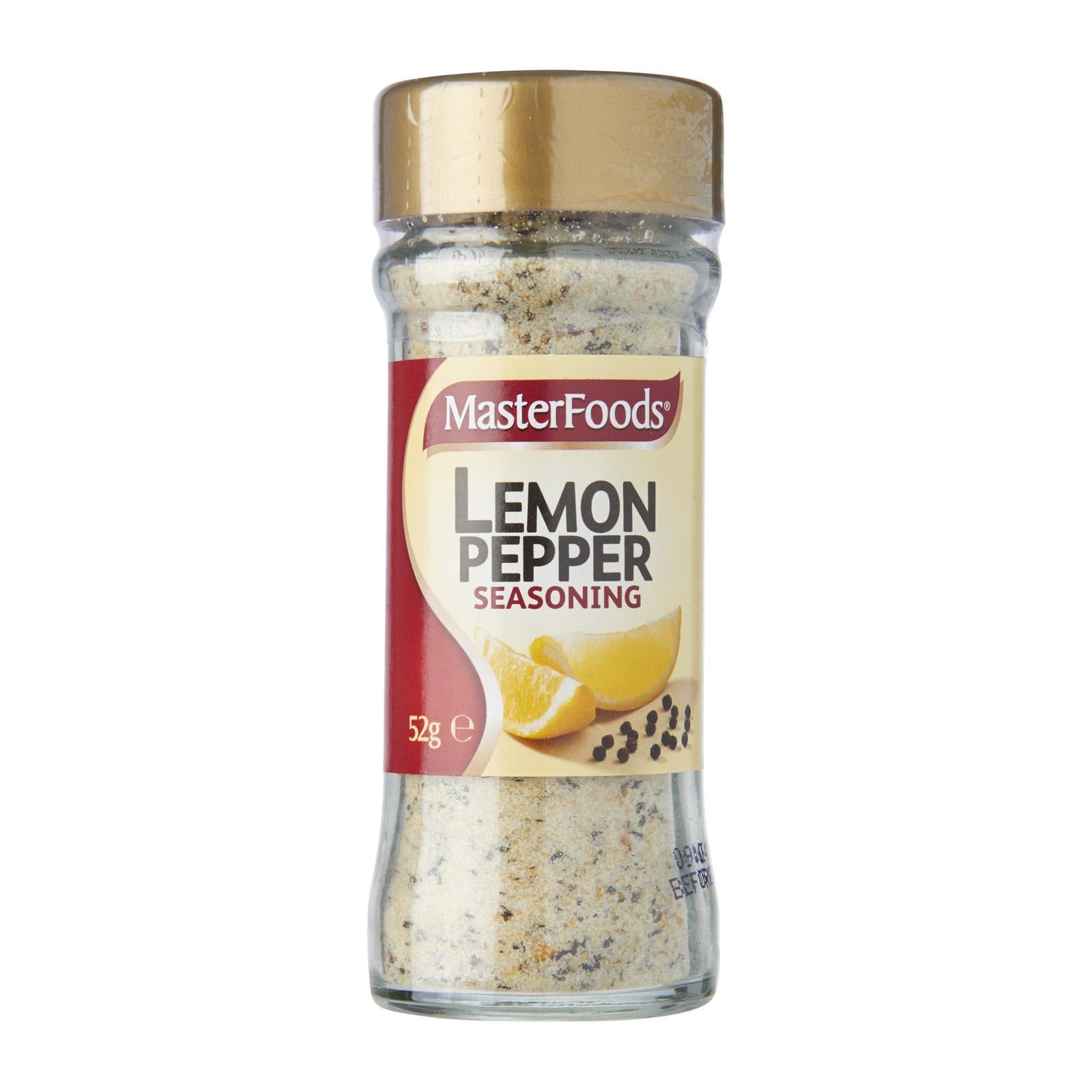 Masterfoods Lemon Pepper Seasoning Jar