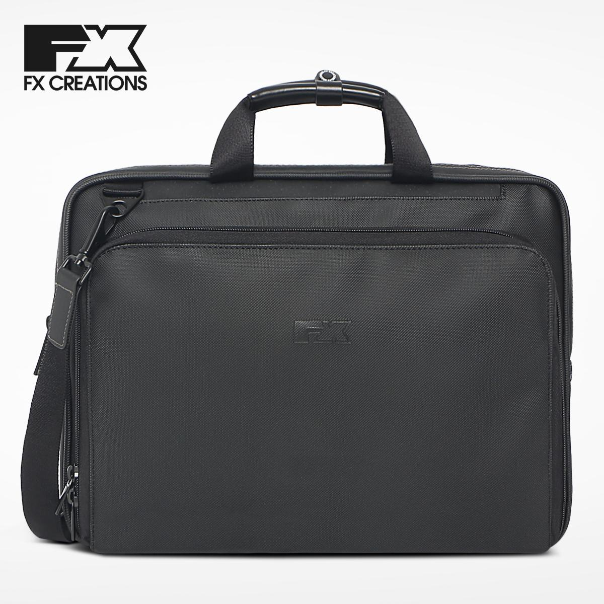 Hong Kong FX Creations Phil Poem Waterproof PVC Office Workers Business Handbag Briefcase SH990386