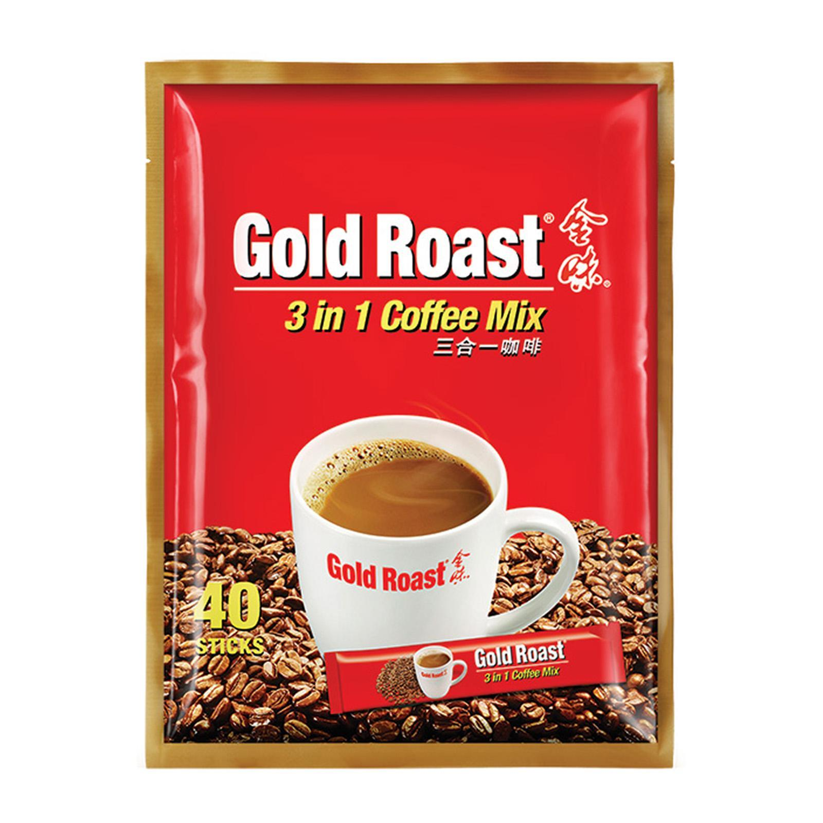 Gold Roast 3 In1 Instant Coffeemix