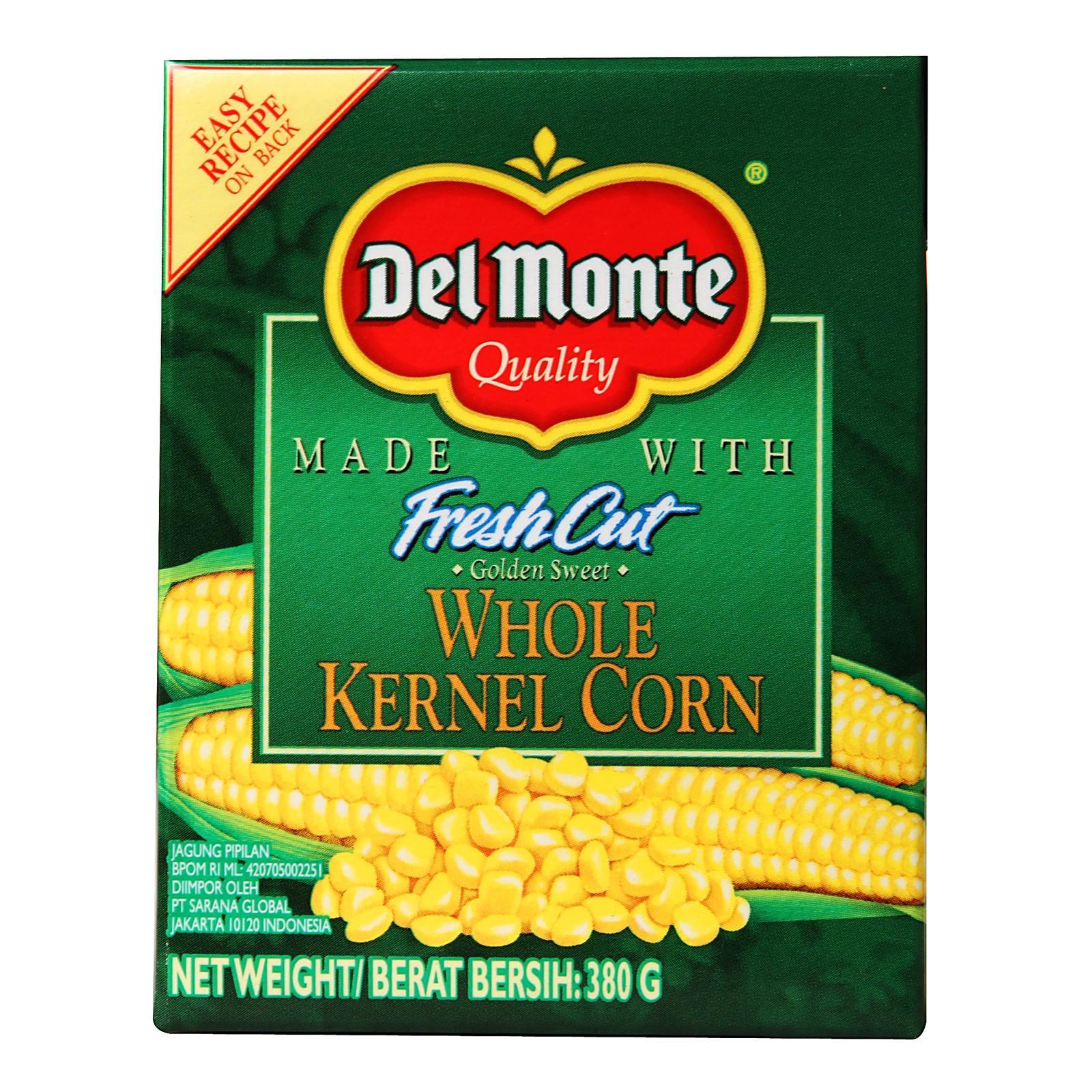 Del Monte Fresh Cut Whole Kernel Corn By Redmart.