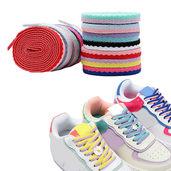 , Giày Nhỏ Màu Trắng, Giày Thể Thao Dây Giày Dệt Hai Lỗ Phụ Kiện Giày Giày Dây Ren giá rẻ