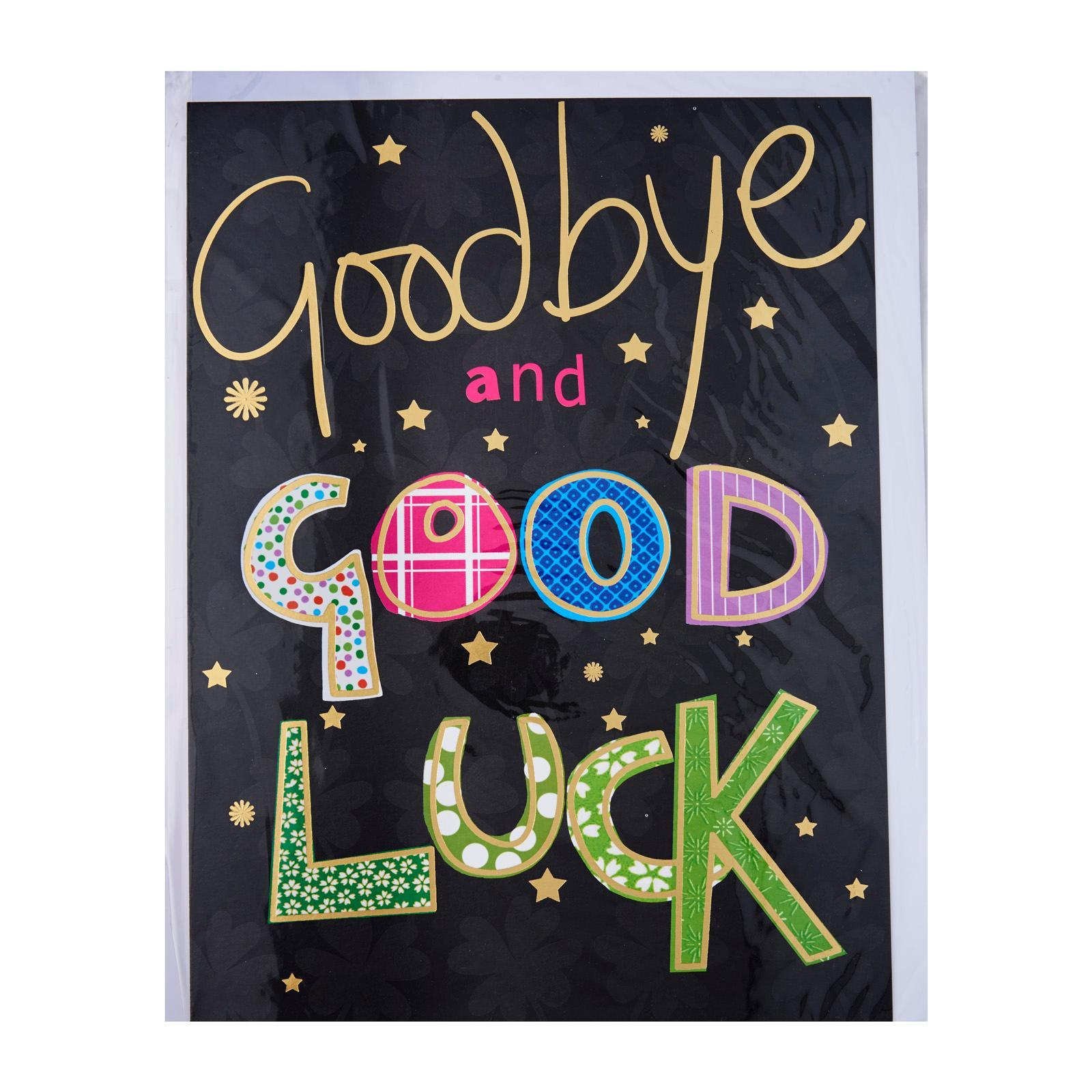 Piccadilly Farewell Card Goodbye And Good Luck Diffmarts Singapore