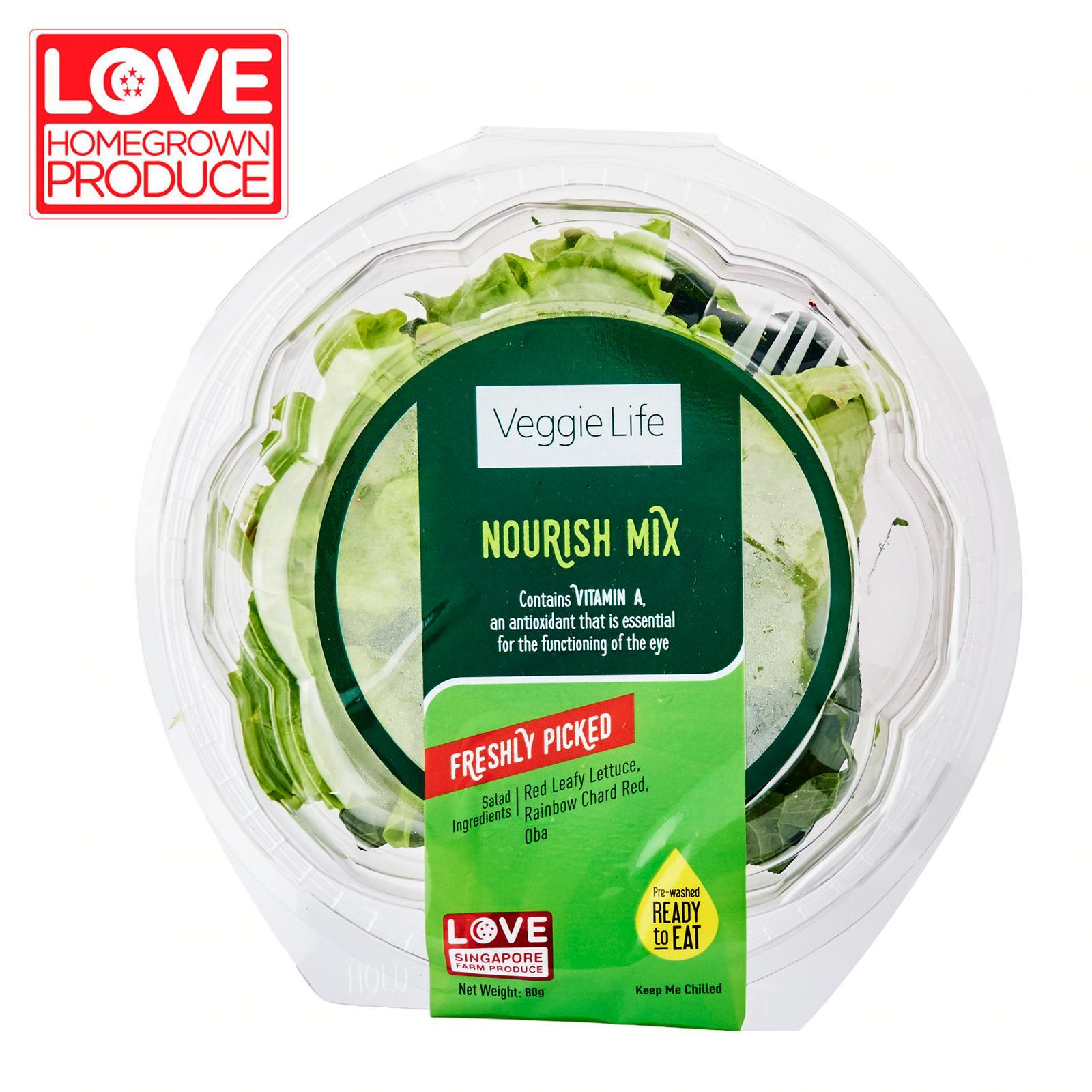 Veggie Life Nourish RTE Salad Mix