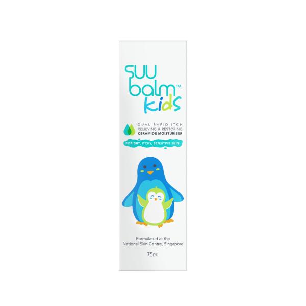 Buy Suu Balm Kids Dual Rapid Itch Relieving & Restoring Ceramide Moisturiser 75ml Singapore