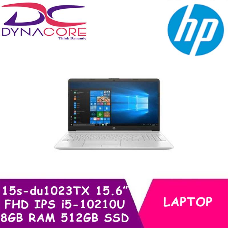 DYNACORE - HP Laptop 15s-du1023TX | 15.6 FHD IPS | i5-10210U | 8GB DDR4 RAM | 512GB PCIe SSD | Geforce MX130-2GDR5 | Win10 home | 1Year HP Onsite Warranty