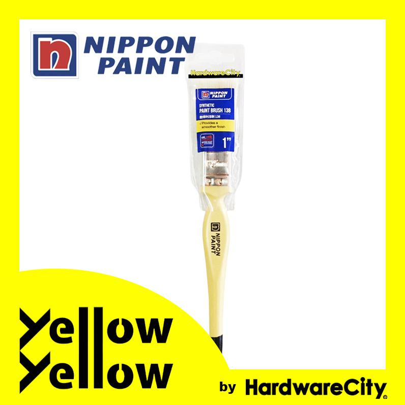 Nippon Paint Synthetic Paint Brush 138 (1/1.5/2in)
