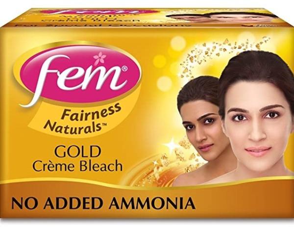 Buy FEM  FAIRNESS NATURALS PROFESSIONAL GOLD CREME BLEACH 212GRM Singapore
