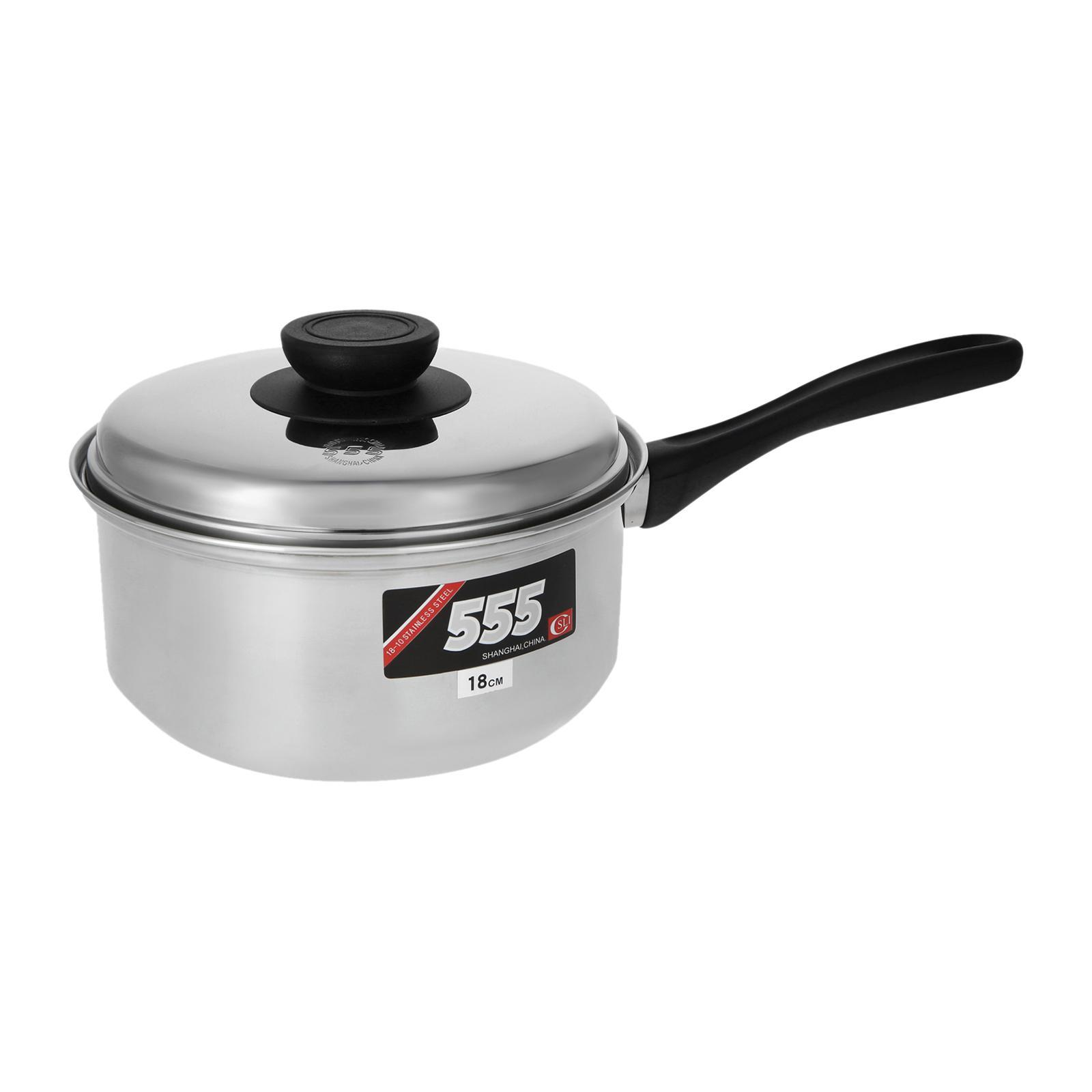 555 Classic Stainless Steel Saucepan 18 CM