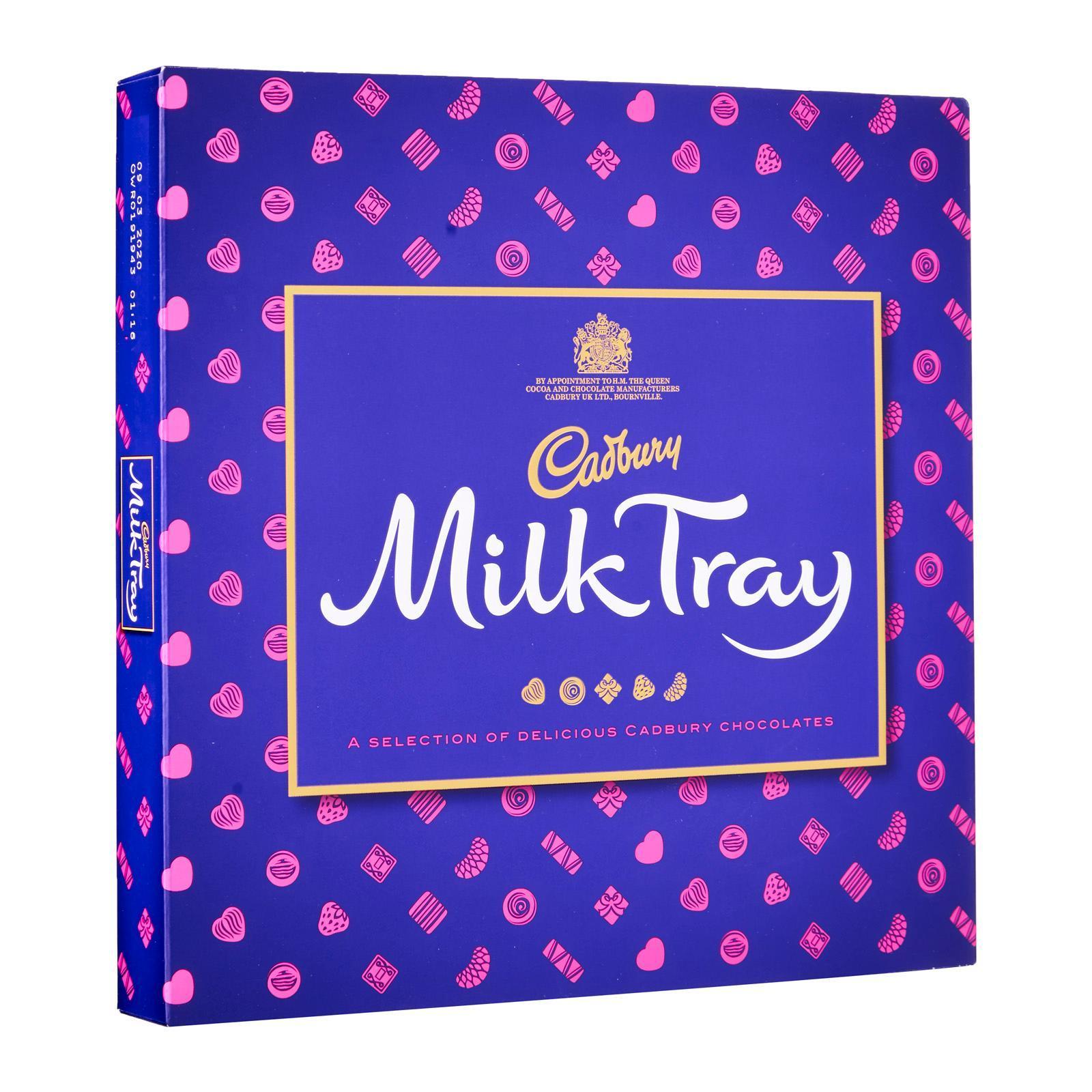Cadbury Milk Tray Chocolates - Christmas Special
