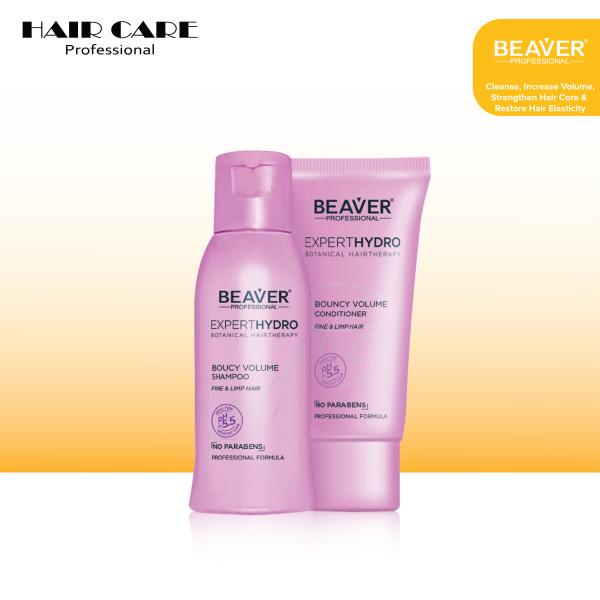 Buy BEAVER EXPERT HYDRO BOUNCY VOLUME SHAMPOO 60ML+CONDITIONER 40ML (MINIATURE) Singapore